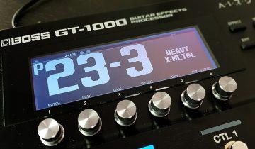 Boss GT 1000 procesor
