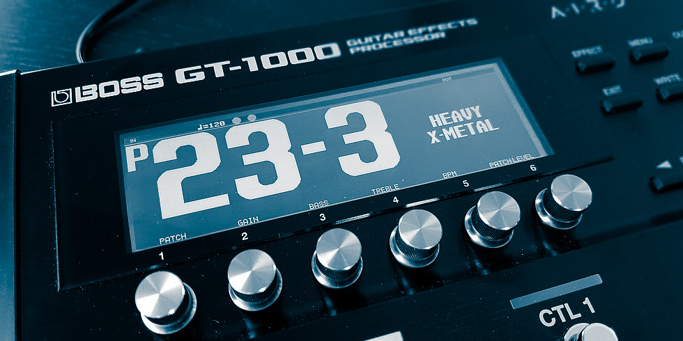 Multi FX BOSS GT-1000 testowany w redakcji TopGuitar